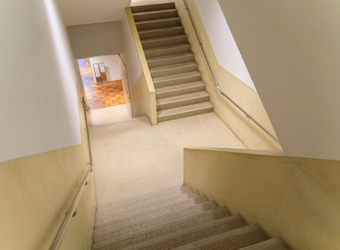 Stairways where the original design remains